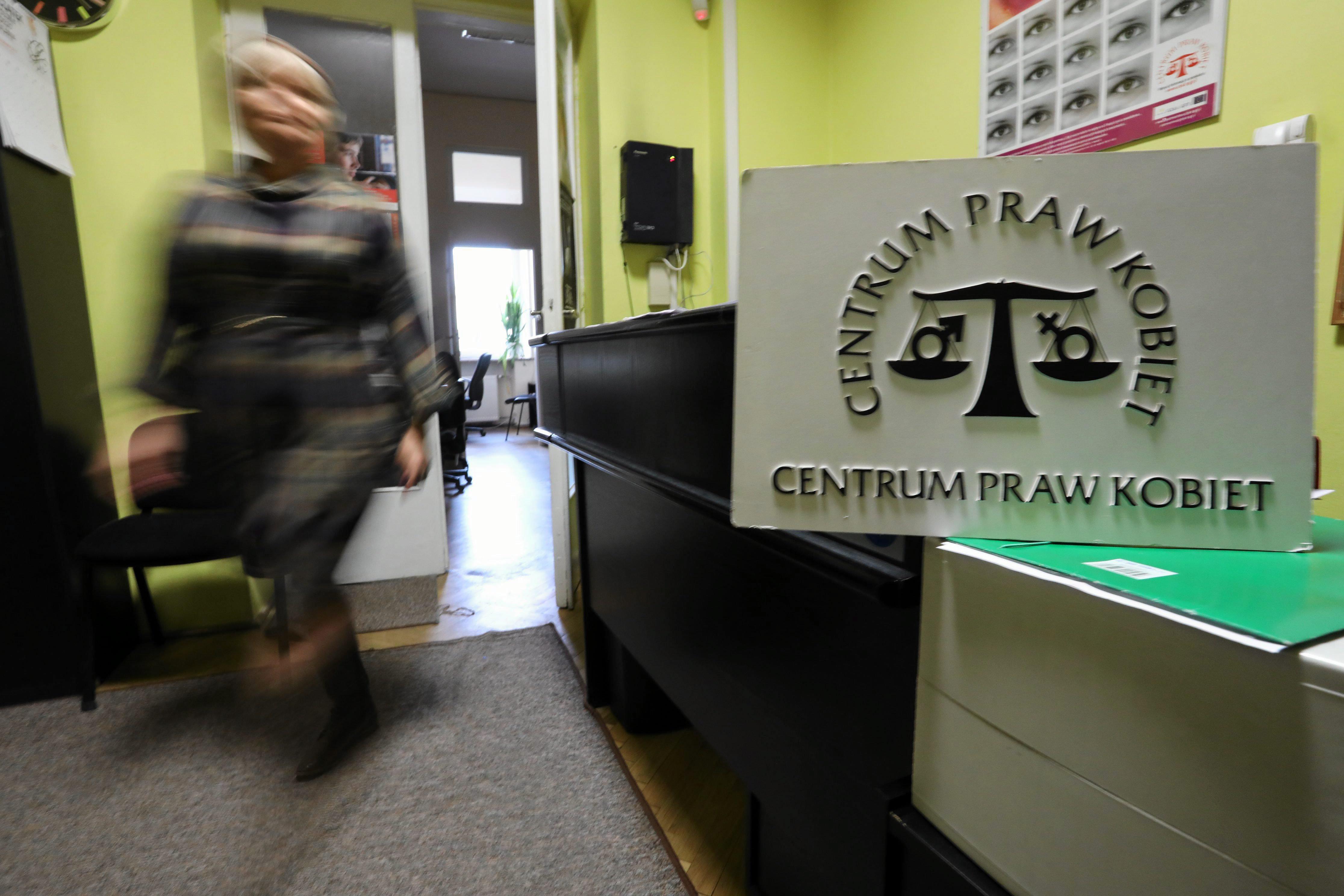 Siedziba Centrum Praw Kobiet w Warszawie (fot. Sławomir Kamiński / Agencja Gazeta)