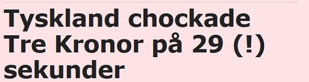 Dziennik 'Aftonbladet': Zadławieni w 29 sekund!