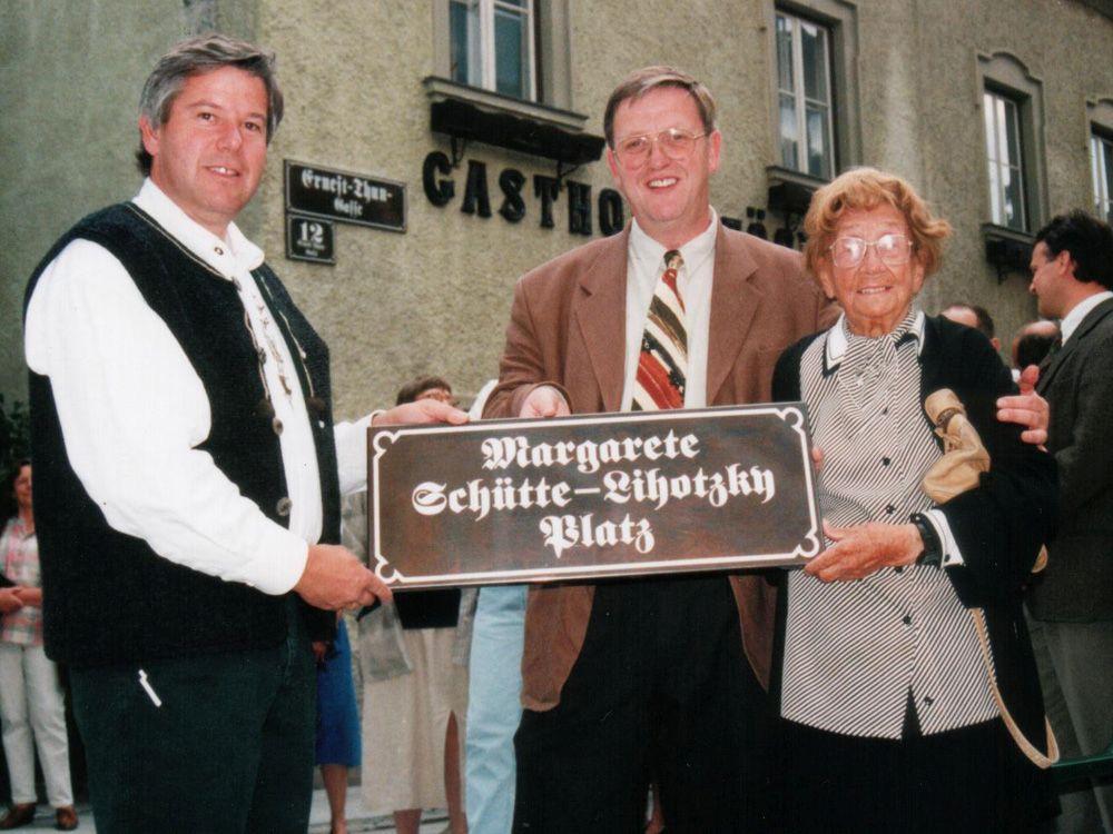Imieniem Margarete Schütte-Lihotzky nazwano jeden z placów w Radstadt (fot. wikimedia.commons.org)