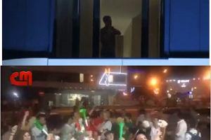 Kibice Iranu zebrali się pod hotelem Portugalii i nie dali im spać. Wtedy pokazał się Ronaldo