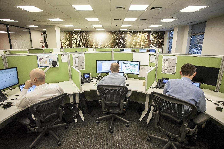 Do najlepiej zarabiających należą zatrudnieni w branży IT. Na zdjęciu biuro Cisco Global Services w Krakowie (fot. Jakub Ociepa / AG)