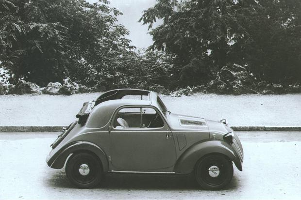 <b>Model 500 Topolino to bezpośredni poprzednik Fiata 500. Produkowany był jeszcze przed wojną</b> <br>Fot. Materiały Partnera
