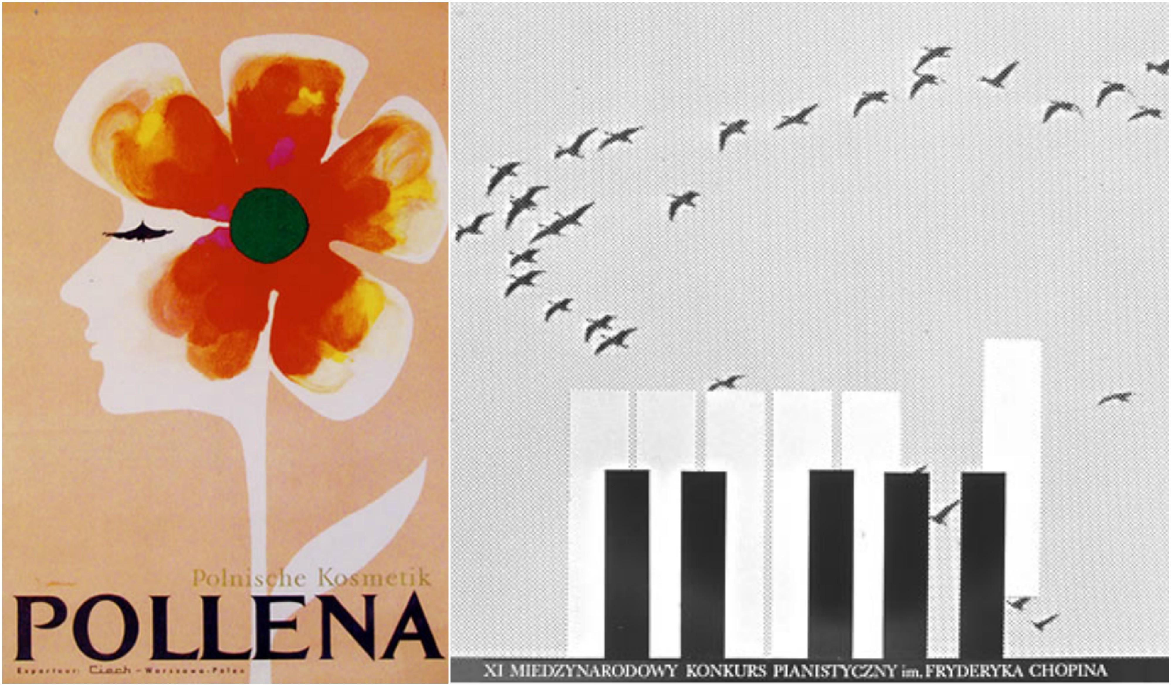 Plakaty zaprojektowane przez Karola Śliwkę (fot. archiwum prywatne)