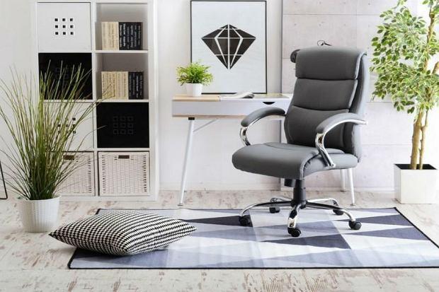 Elegancki i wygodny fotel do biura