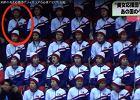 Tylko jedna cheerleaderka z Korei Pónocnej zaczyna klaskać. Szybka reakcja przerażonej koleżanki