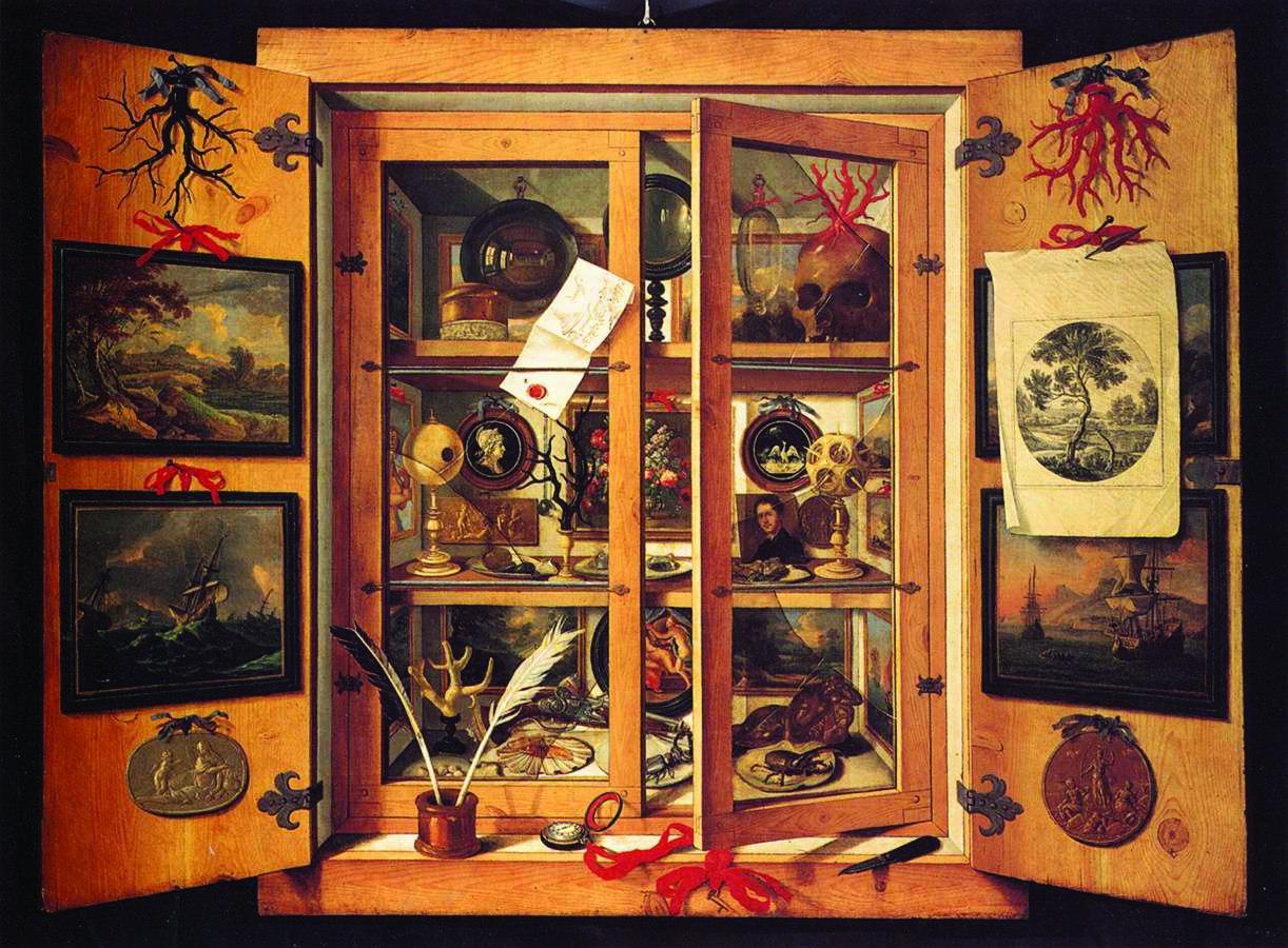 Domenico Remps, Gabinet osobliwości, lata 90. XVII w. Reprodukcja: Museo dell'Opificio delle Pietre Dure (fot. materiały prasowe)
