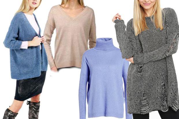 fot. materiały partnera/ modne swetry idealne na zimę