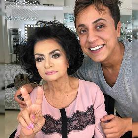 Jego makijaż odmłodził 80-latkę -