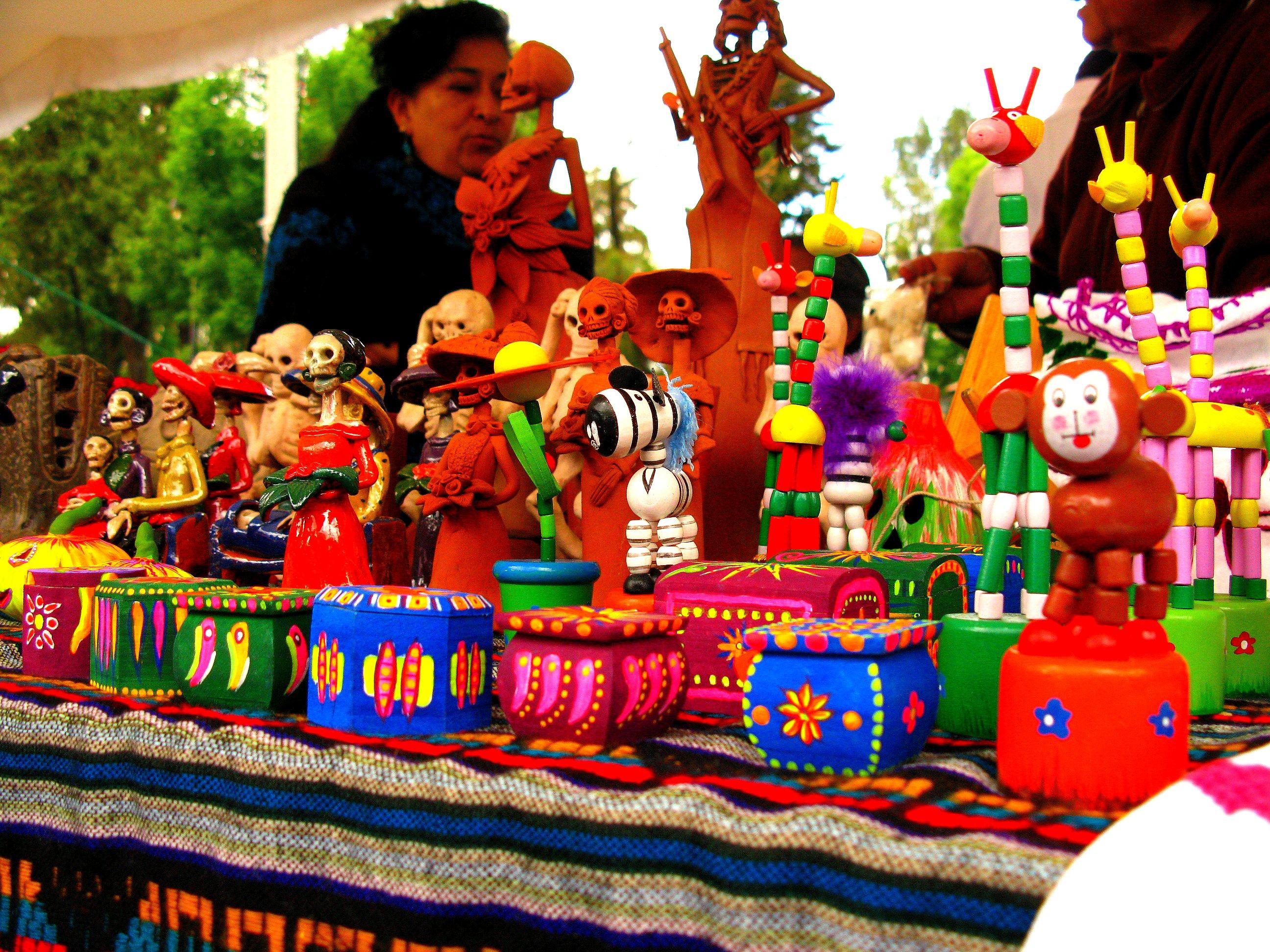 Meksykańska artystka w Mexico City (fot. Raul Alvarez / Flickr.com / CC BY-NC-ND 2.0)