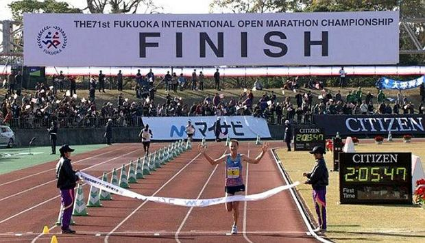 Nowy rekord Europy na dystansie maratonu padł w Fukuoce!