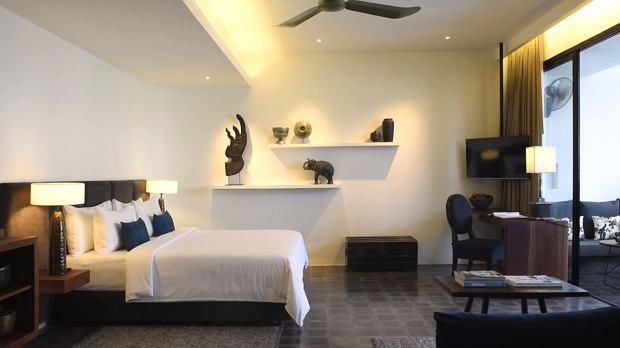 Pokój w Viroth's Hotel w Kambodży