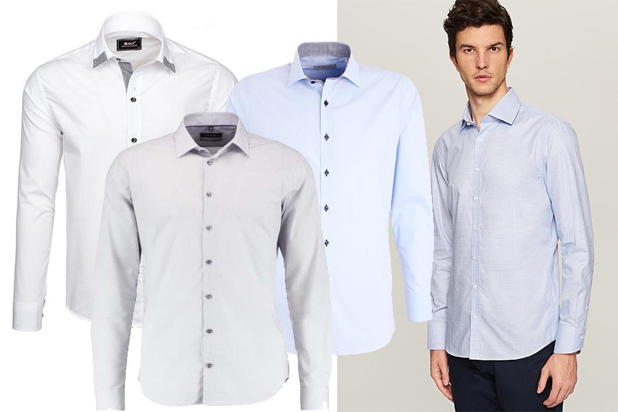 Koszule - nie tylko białe