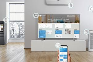 Telewizor w centrum twojego inteligentnego domu? Z Samsung Smart TV Q8C to możliwe
