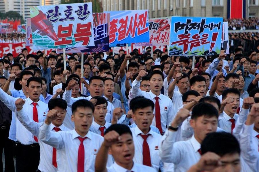 Za to można stracić głowę w Korei Północnej...