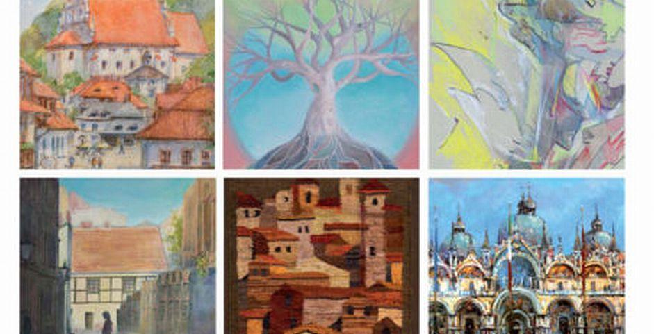 Zaproszenie na wystawę malarstwa i tkaniny FOCUS