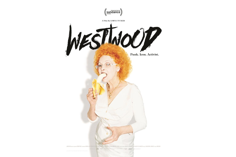 Plakat filmu 'Westwood: Punkówa, Ikona, Aktywistka' w reżyserii Lorny Tucker (mat. promocyjne)