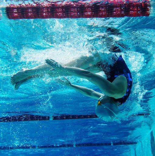 Pływanie pomaga wyrzeźbić sylwetkę i zgubić nadprogramowe kilogramy