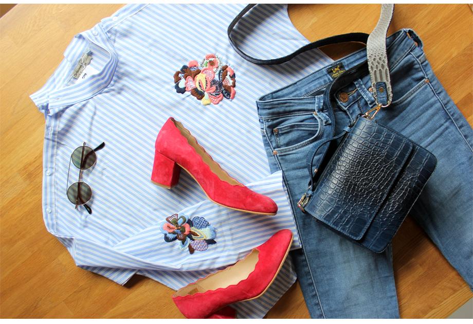 Koszula Papilion - stylizacja