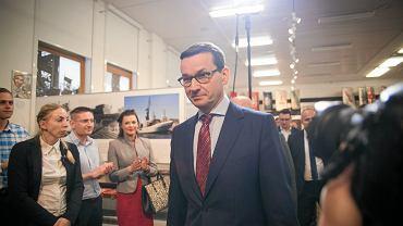 Awantura na spotkaniu z Morawieckim w Gdańsku. Premier opuścił salę w towarzystwie ochrony