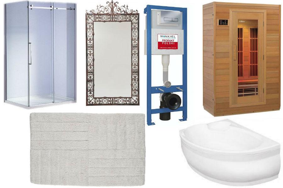 dodatki, łazienka, mieszkanie, aranżacja łazienki, meble