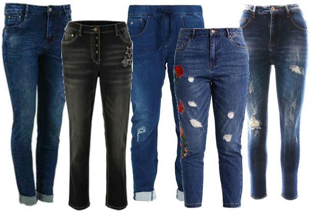 fot. materiały partnera/ modne jeansy boyfriend na jesień