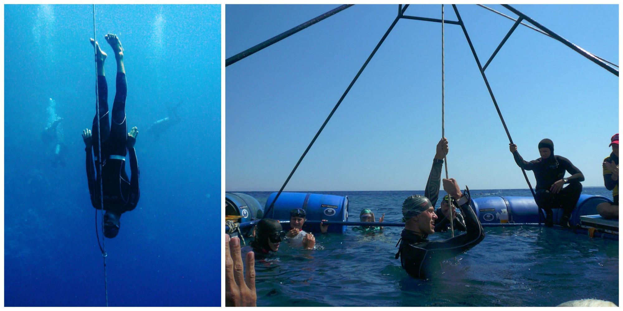 Triple Depth (wrzesień 2009) - ustanowienie przez Mateusza Malinę trzech rekordów narodowych: 70 m stały balast bez płetw (CNF), stały balast (CWT) oraz Free Immersion (FIM)