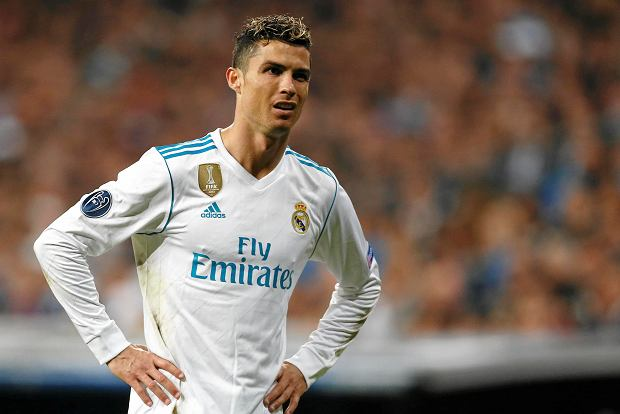 Real Madrid's Cristiano Ronaldo reacts during the Champions League semifinal second leg soccer match between Real Madrid and FC Bayern Munich at the Santiago Bernabeu stadium in Madrid, Spain, Tuesday, May 1, 2018. (AP Photo/Francisco Seco) SLOWA KLUCZOWE: XCHAMPIONSLEAGUEX