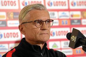 Konferencja Nawałki i Lewandowskiego słaba, jak mecz z Kolumbią. Piłkarze się pochowali