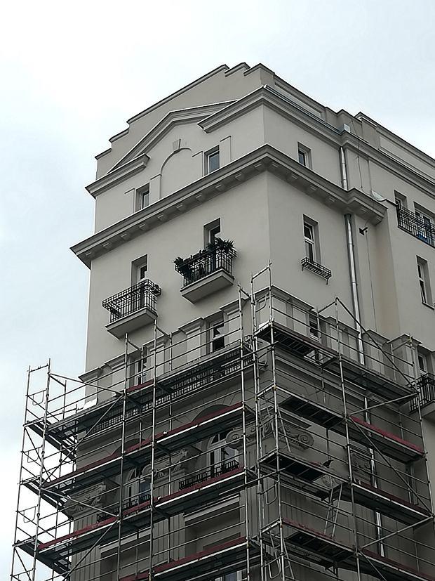 Odnowiona kamienica przy Marszałkowskiej 1
