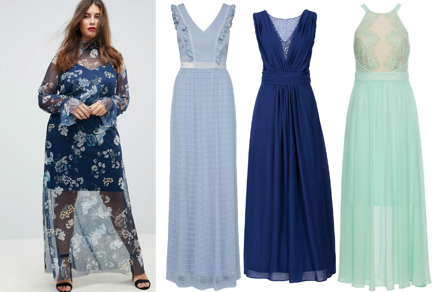 2767a283d739 Długie sukienki dla puszystych  materiały partnera  kolaż Avanti24