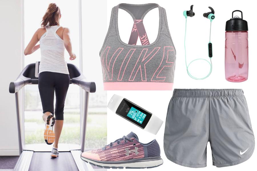 Strój do biegania na siłowni / fot. refinery29.com / mat. partnera