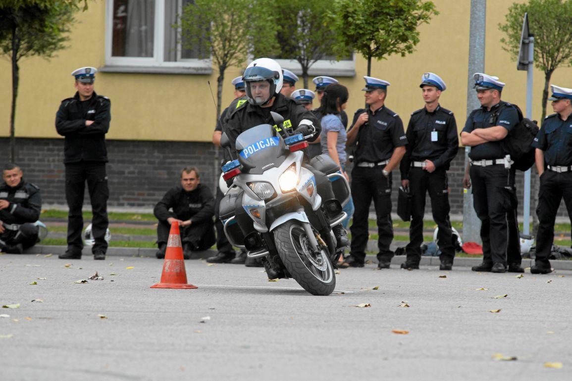 Centrum Szkolenia Policji w Legionowie. 2012 rok (fot. Dariusz Borowicz / Agencja Gazeta)