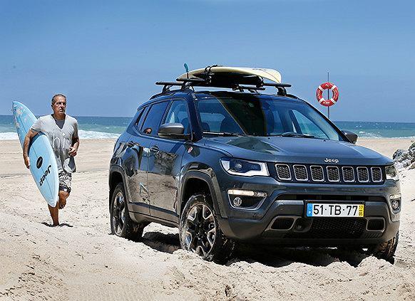 Jeep Compass dopasuje się do wymagań każdego kierowcy. Fot. Materiały Partnera