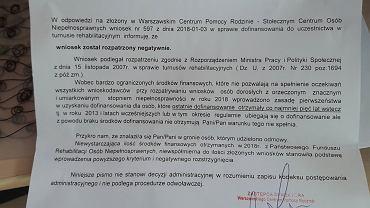 """Dofinansowanie do turnusu rehabilitacyjnego raz na 5 lat? """"Decyduje komisja"""""""