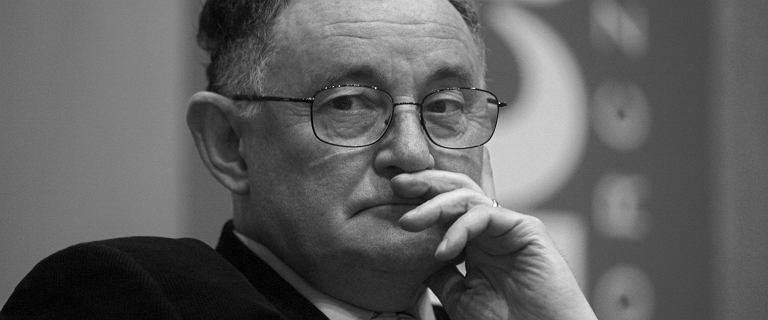 Prof. Wiktor Osiatyński nie żyje. Zmarł po ciężkiej chorobie. Miał 72 lata