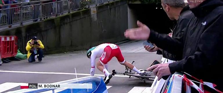 Holender mistrzem świata. Zwycięzca Tour de France też z medalem. Dramat naszego faworyta! Upadł tuż po starcie!
