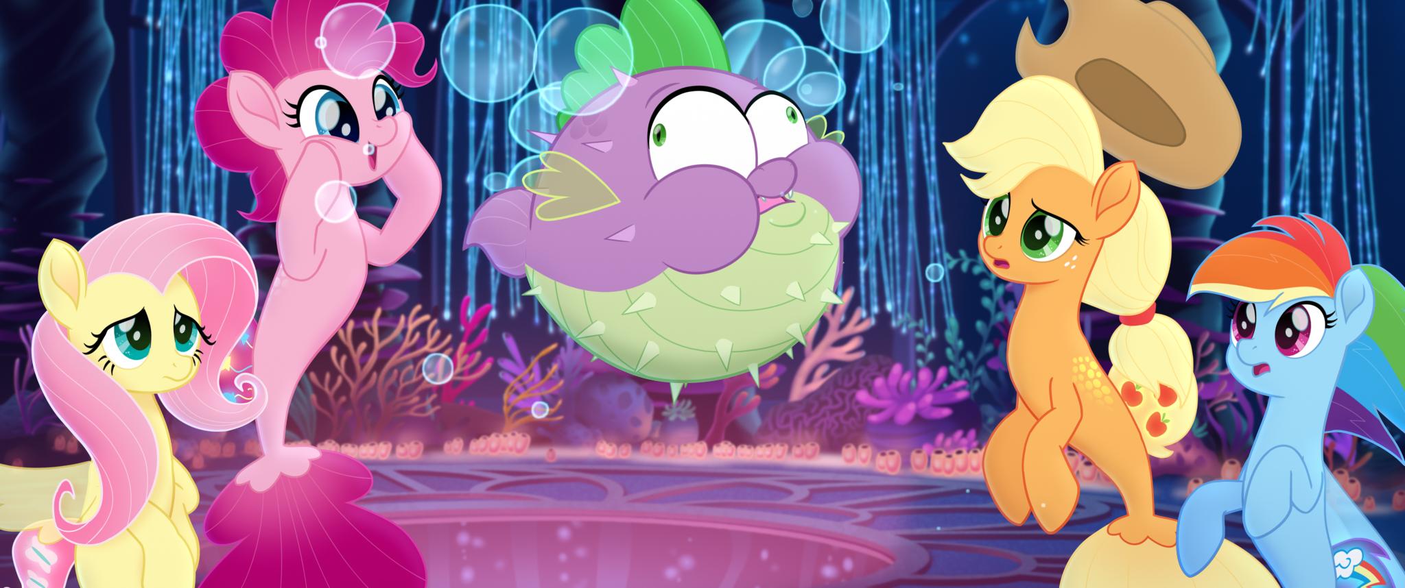 Kadr z filmu 'My Little Pony', który 6 października trafił do polskich kin (fot. Lionsgate and Hasbro / materiały prasowe)