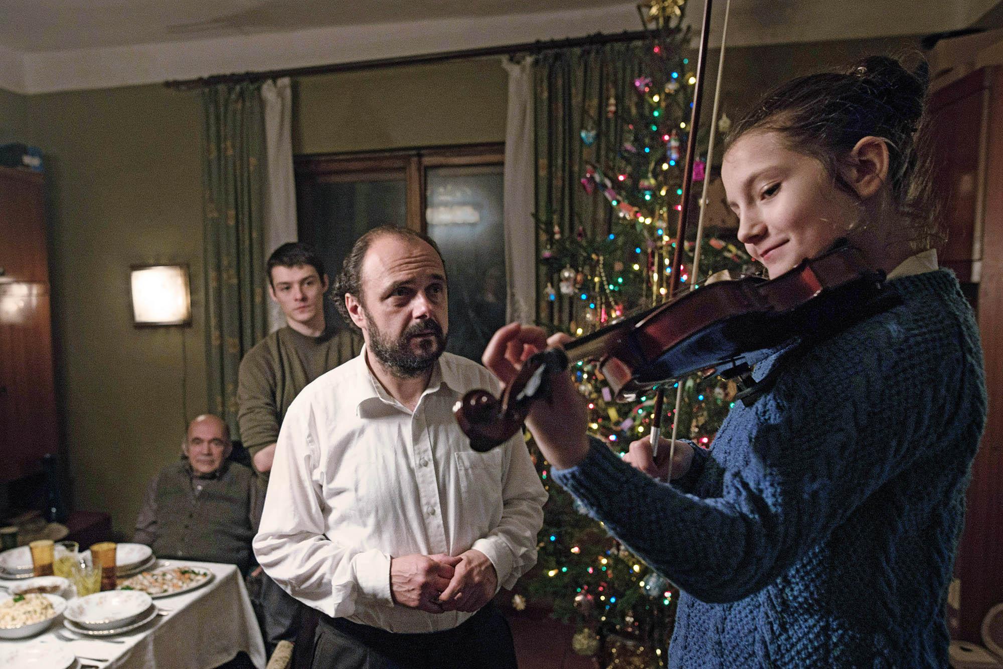 Kadr z filmu 'Cicha noc' (fot. materiały prasowe)