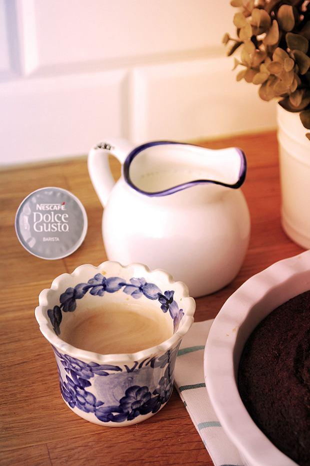 Idealny zimowy sulfet czekoladowy z kawą
