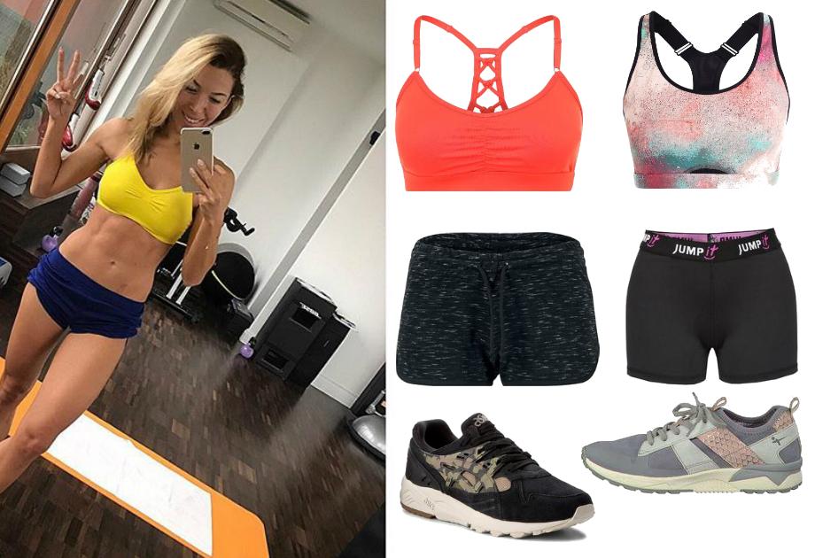 Ewa Chodakowska strój na fitness