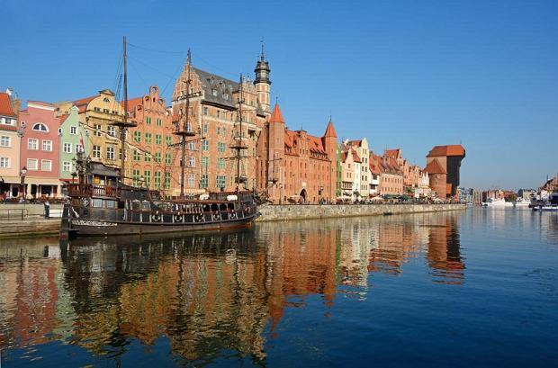 Gdańsk - widok na Motławę, fot. iStock