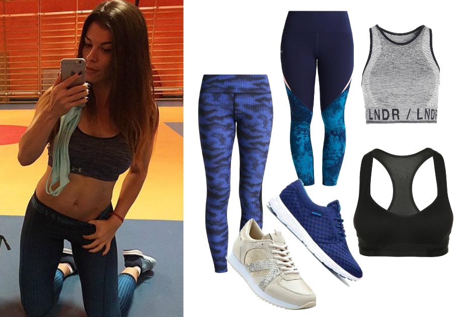 Natalia Gacka strój na fitness