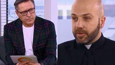 """Ksiądz w """"DD TVN"""" opowiada o opłatach za sakramenty. Przerywa mu Sołtysik. """"To powinno być bezpłatne"""""""