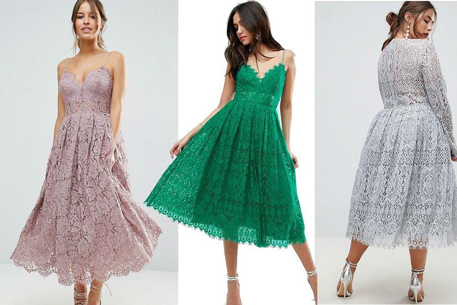 Koronkowe sukienki na specjalne okazje