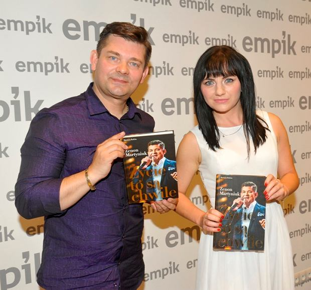 Zenon Martyniuk i Monika Rokita
