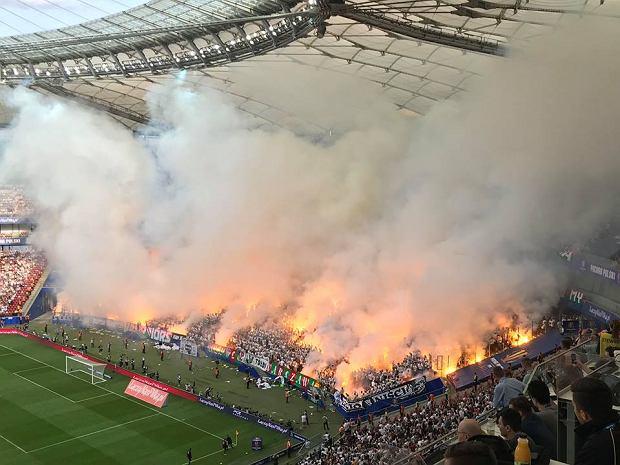 Kibice podczas finału Pucharu Polski