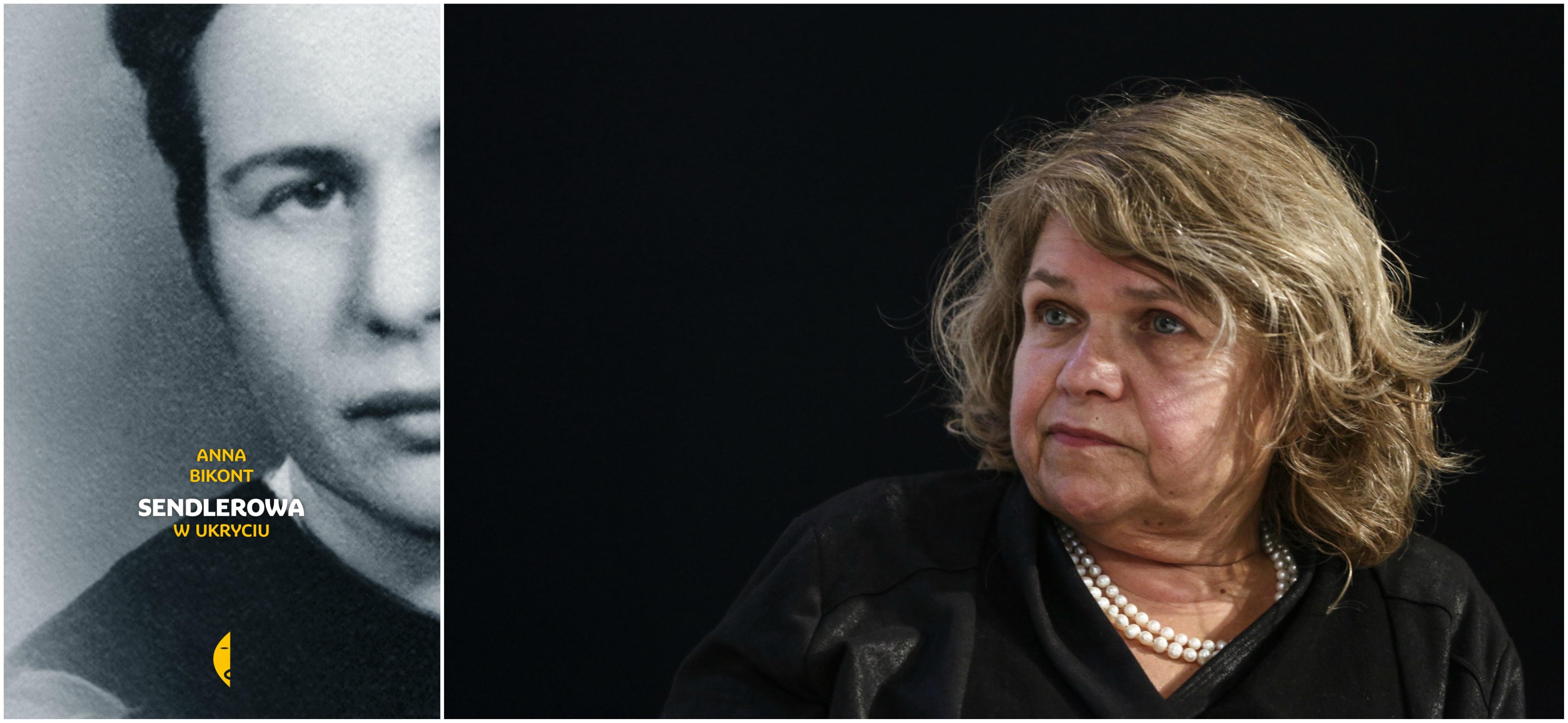 Książka Anny Bikont 'Sendlerowa. W ukryciu' ukazała się nakładem Wydawnictwa Czarne (fot. materiały prasowe / Adam Stępień / Agencja Gazeta)