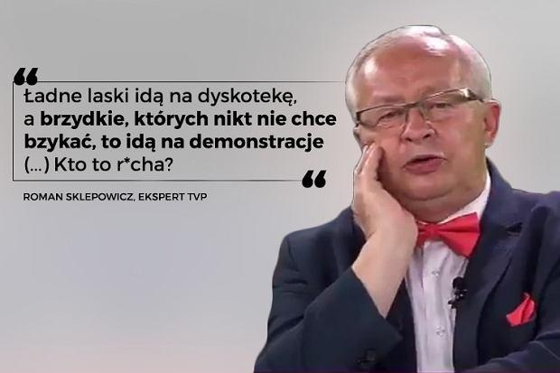 Roman Sklepowicz, prawnik, ekspert TVP, wypowiedź z października 2017 roku.