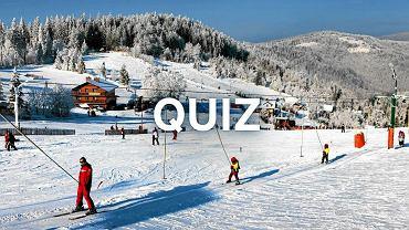 Oznaczyliśmy na mapie Polski miejsca, w które jeździcie na narty. Rozpoznacie je?