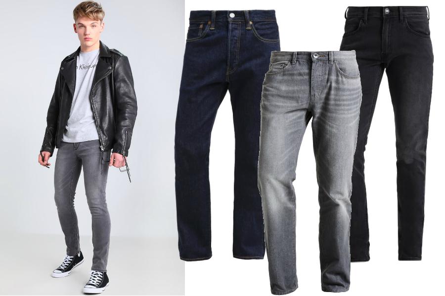 Spodnie jeansowe / kolaż redakcja, materiały partnerów